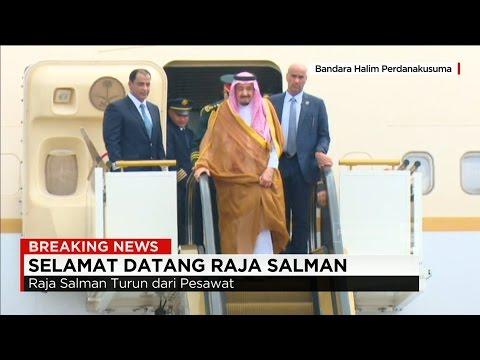 Detik detik Kedatangan Raja Salman ke Indonesia Jokowi Sambut Raja Arab Saudi