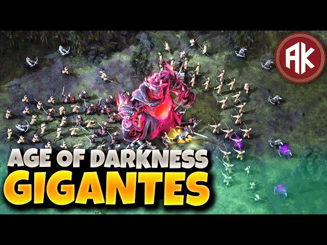 Como Derrotar GIGANTES e 5.000 Monstros?! - EP04 - Age of Darkness: Final Stand