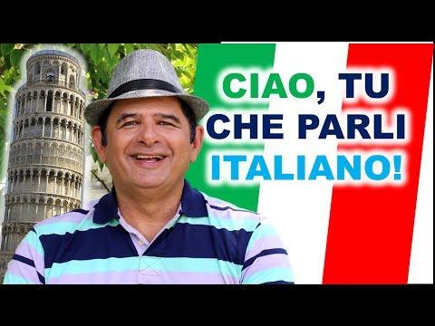 Ciao tu que parli ITALIANO Guarda questo  di Júlio Hatchwell