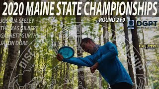 2020 Maine States Championships | RD2 F9 | Seeley, Gilbert, Gurthie, Dore