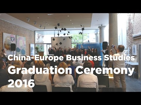 CEBS graduation ceremony 2016