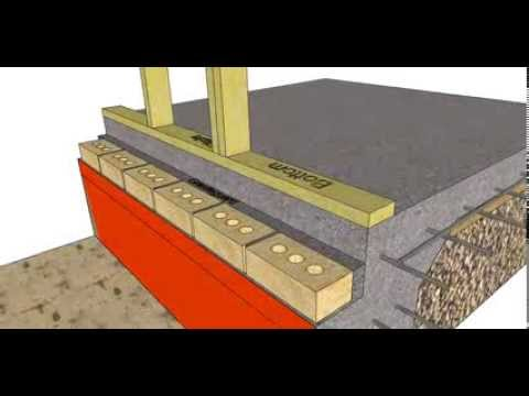 Section Through A Brick Veneer Slab On Ground Building Part 2 Youtube