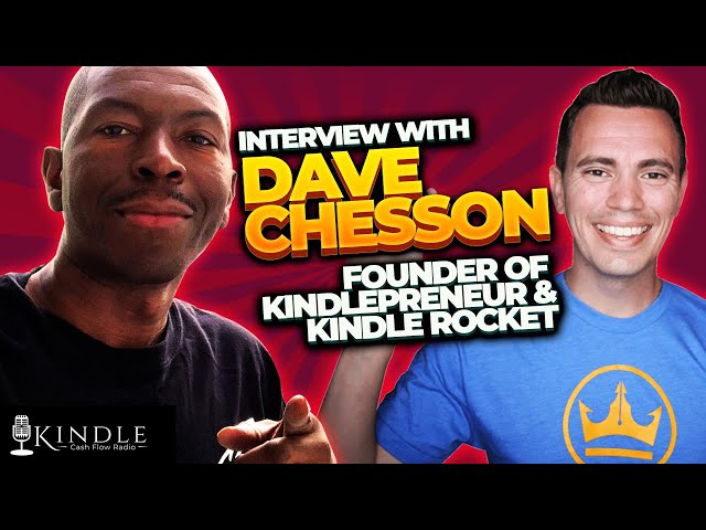 Ty's Interview with Dave Chesson: Founder of Kindlepreneur and Publisher Rocket
