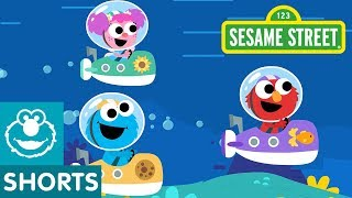 Sesame Street: Underwater Track | Magical Car Races