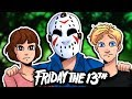 JASON'S NEW FAMILY! | Friday The 13th: Single Player Challenge 3 & 4 | (Lights Out & Stargazing)