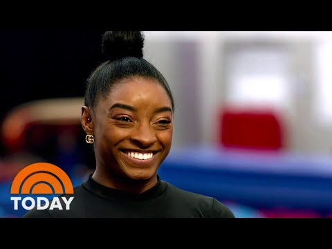 Simone Biles Talks About Tokyo Olympics: 'I'm Trying To Beat Myself'   TODAY