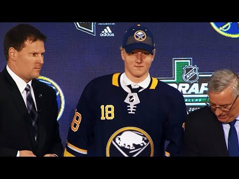Rasmus Dahlin drafted first overall by Buffalo Sabres