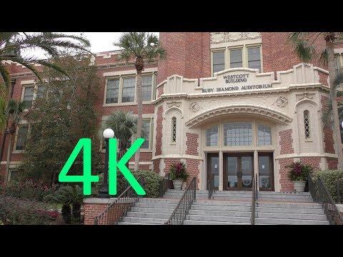 A 4K Tour of Florida State University (FSU)