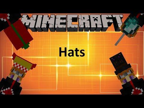 HATS MOD - MINECRAFT 1.12 (MOD SHOWCASE)
