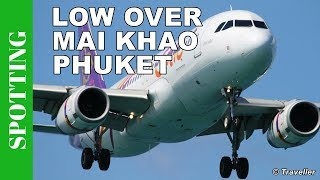 Thai Smile A320´s - Phuket Airport Spotting, Mai Khao Beach - Phukets Princess Juliana Airport
