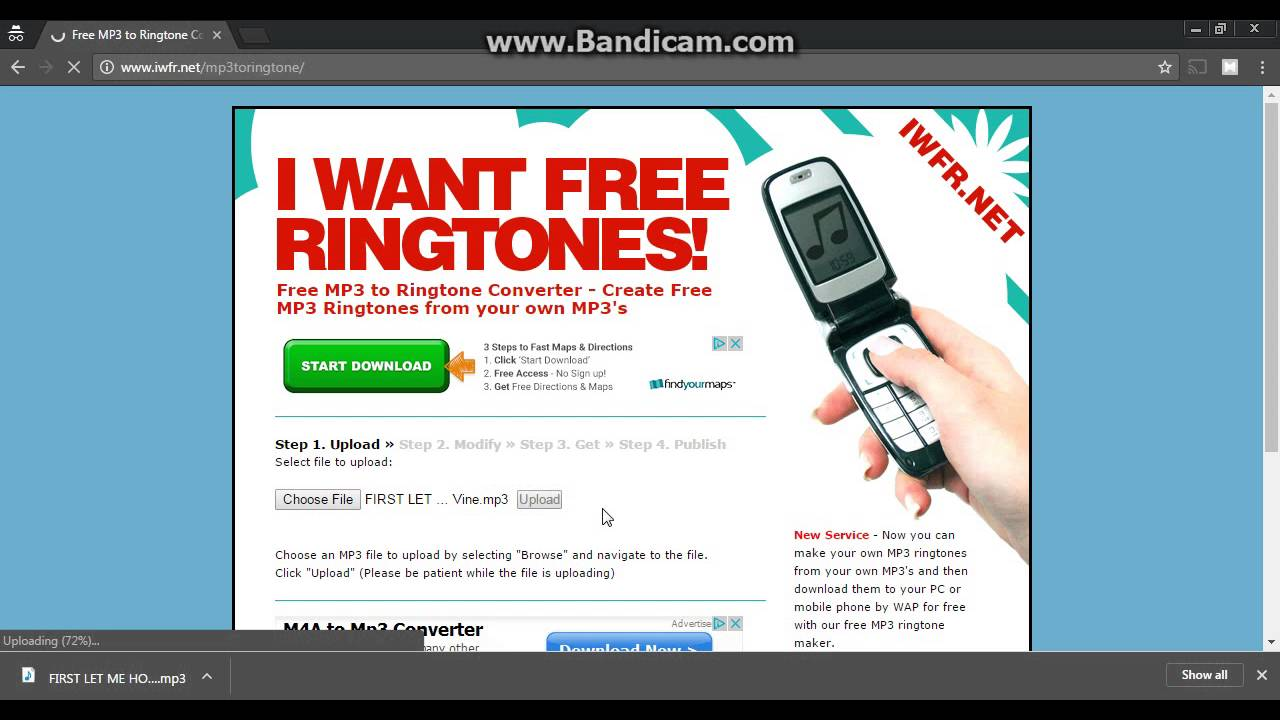 convert youtube to ringtone android