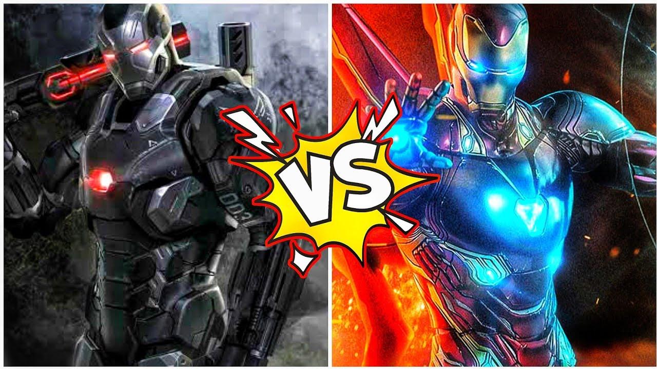 (2021)Ironman Tony Stark vs Warmachine James Rodhey (SUPERBATTLE) in Hindi