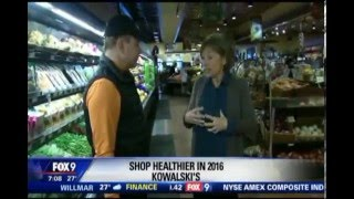 Shop Healthier in 2016 - Part 1 (1/3/16 on FOX 9)