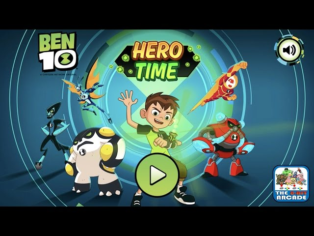 Ben 10: Hero Time - Short on time, use the Omnitrix to get to the End (Cartoon Network Games)