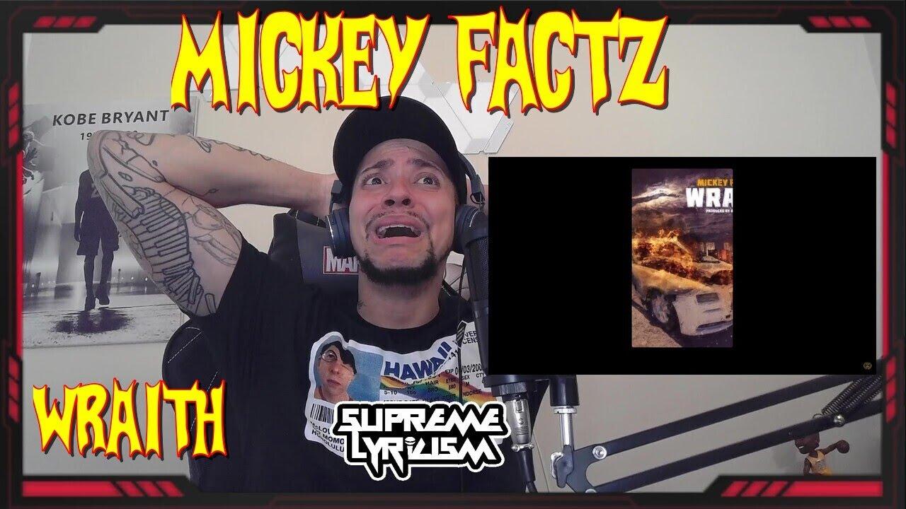 BOXES CHECKED!!!! Mickey Factz - Wraith (Royce Da 5'9 Diss) REACTION   SUPREME LYRICISM