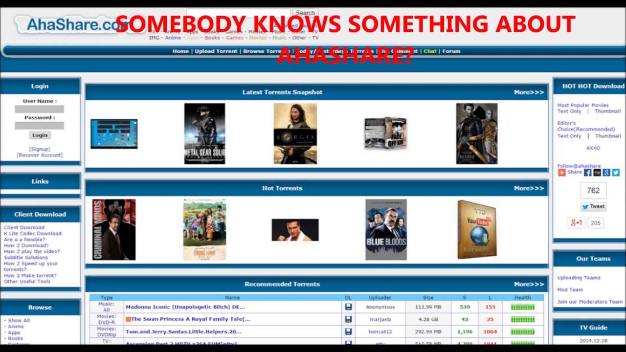 ahashare free download movies