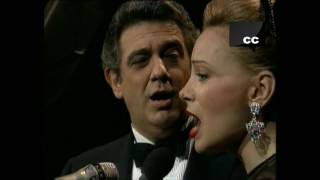 PLACIDO DOMINGO Y PALOMA SAN BASILIO JUNTOS POR FIN HD  (TOGETHER LAST AT) 1991