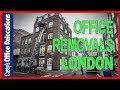Office Removals London : How To Hoist Furniture Through a Window Call 0800 633 5932
