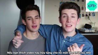 [Vietsub] BOYFRIENDS SEE EACH OTHER NAKED FOR THE FIRST TIME  - Dion & Sebb
