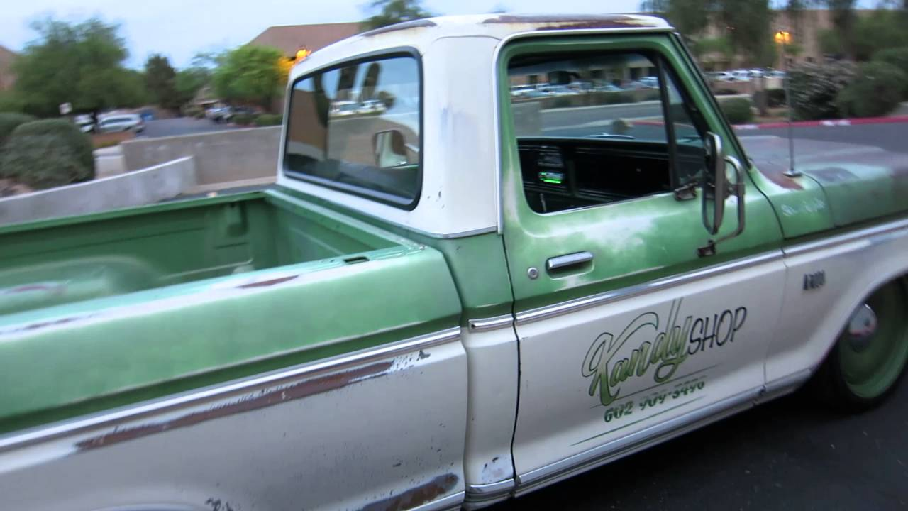 1973 Ford F100 Ranger Short Bed Patina Truck For Sale Scottsdale Az 1970 Cascio Motors