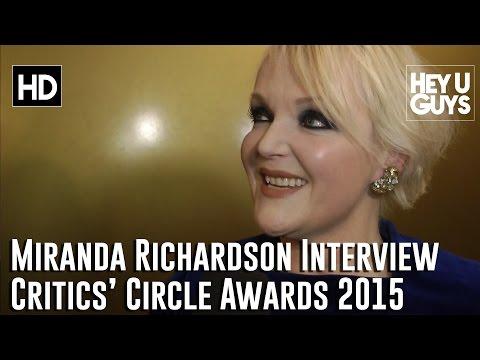 Miranda Richardson Interview - The Critics