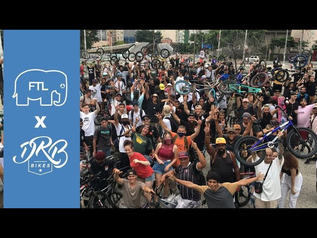 DRB Bikes x FTL Billy Perry Brasil Jam - Dream BMX