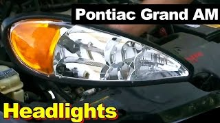 1999 2004 pontiac grand am gt headlight repair how to. Black Bedroom Furniture Sets. Home Design Ideas