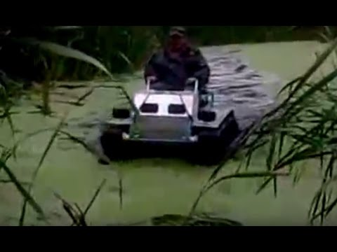 Homemade Amphibious Vehicles Off Road Test Drive