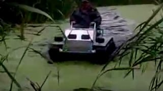 Homemade Amphibious Vehicles Off road Test Drive Compilation