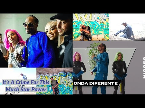 Anitta with Ludmilla and Snoop Dogg feat Papatinho - Onda diferente  Reaction