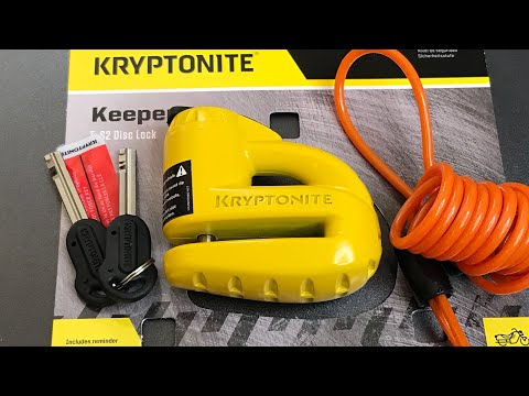 [566] Kryptonite Keeper Motorcycle Disc Brake Lock Picked
