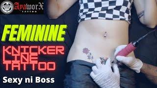 FEMININE/KNICKER LINE TATTOO - SEXY NI BOSS