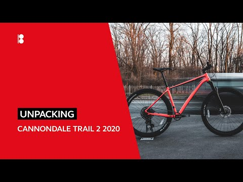 Cannondale Trail 2 2020.  Распаковка и обзор велосипеда.