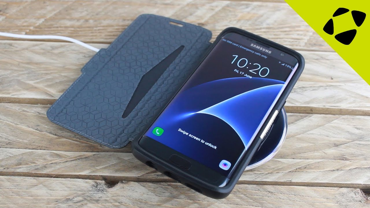 OtterBox Strada Series Samsung Galaxy S7 Edge Case Review - Hands On - YouTube
