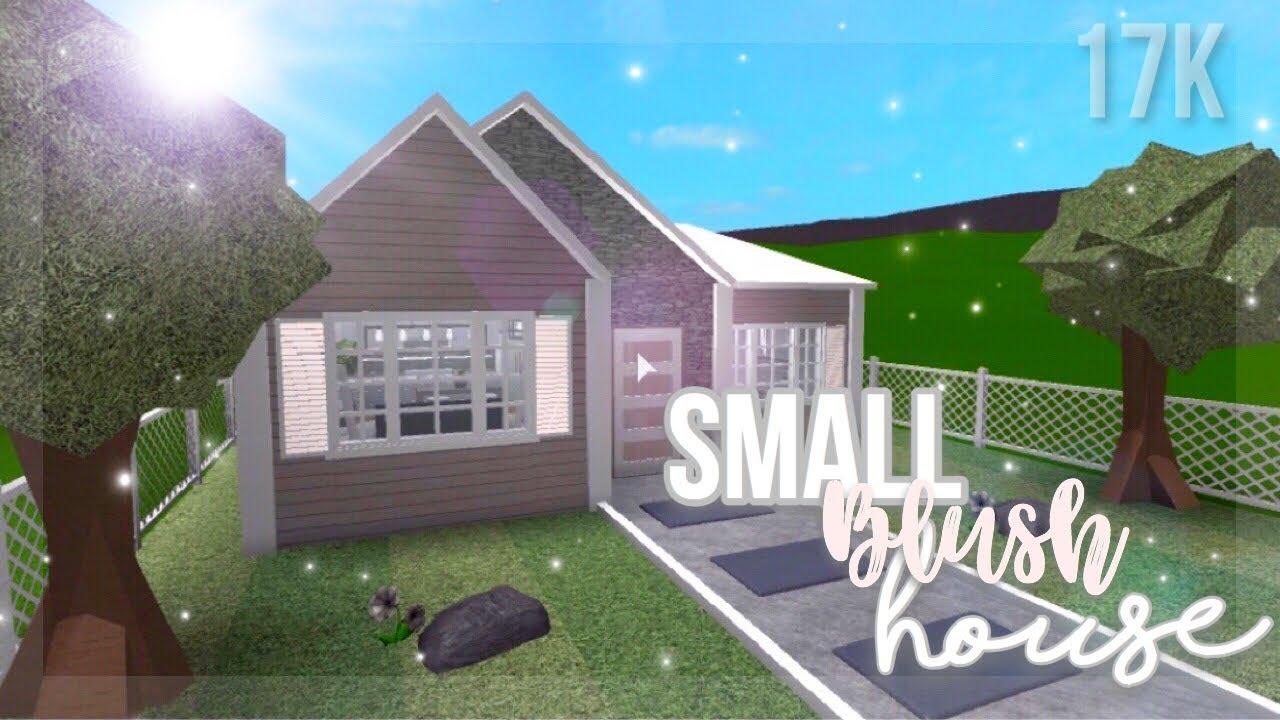 Small Blush House 17k Roblox Bloxburg Youtube