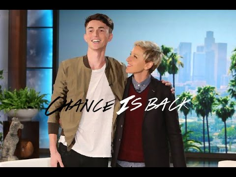 Greyson Chance On Ellen Show (Full Video)