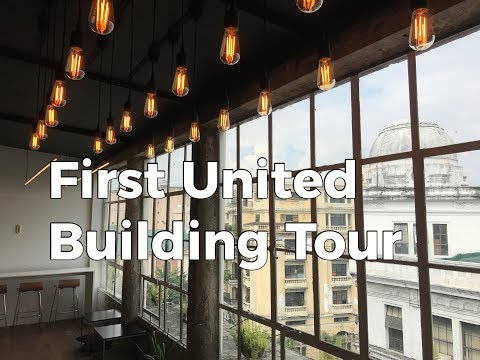Get Ready, Manila! #1  - First United Building Tour ( ft. Lorraine and Robert Sylianteng)