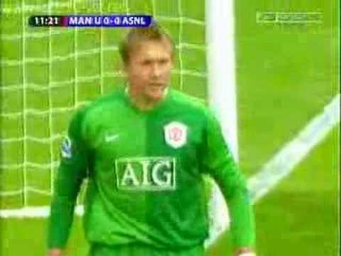 Kuszczak vs Arsenal, penalty save
