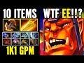 10 Slot Alchemist 1k1 GMP Richest Hero of Dota - Gameplay by Enternal Envy