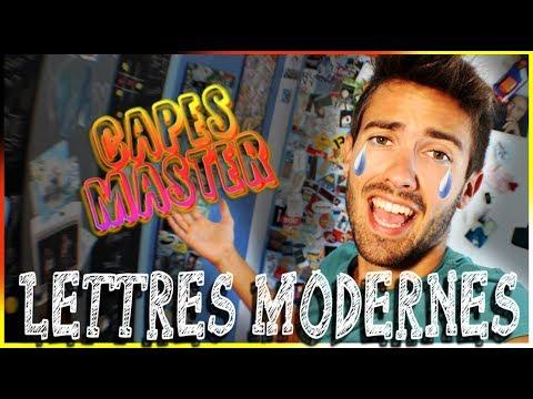 MASTER MEÉF et CAPES LETTRES MODERNES  -  Arthur