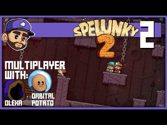 Spelunky 2 Multiplayer w:  @Olexa  &  @Orbital Potato  | Ep2