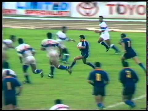 Josh Kronfeld Try vs Samoa