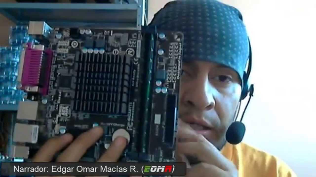 Motherboard Gigabyte Ga E2100n Mini Itx Processor Amd E1 2100 Ddr3 Descripcion Y Recomendaciones Youtube