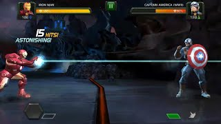 Marvel Contest of Champion Android Gameplay || Ironman vs Captain America