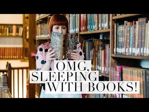 OMG, Sleeping With Books!