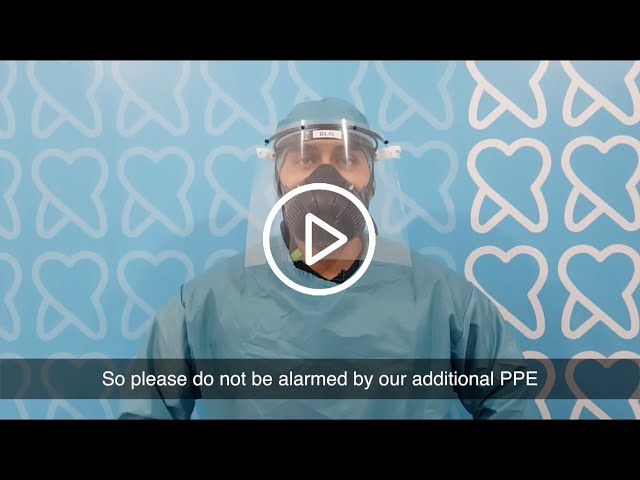 Message from the Principal Dentist | Dr. Bilal Ahmad | Ryton Dental