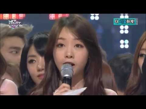 140213 M!Countdown - Kim Woo Bin & Girl's Day Minah Moments