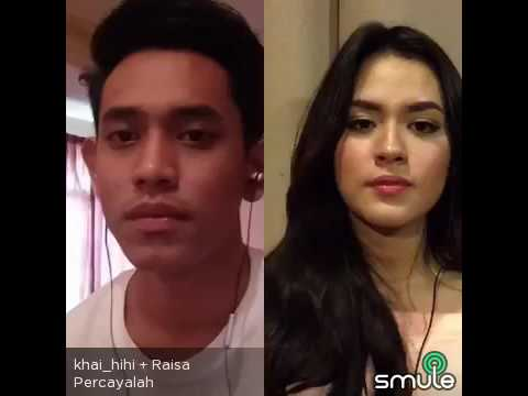 percayalah raisa & afgan cover by khai bahar