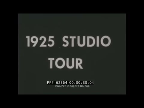 1925 MGM METRO GOLDWYN MAYER STUDIO TOUR   CULVER CITY CALIFORNIA  HOLLYWOOD MOVIE MAKING  62364
