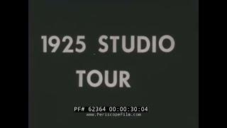1925 MGM METRO GOLDWYN MAYER STUDIO TOUR   CULVER CITY CALIFORNIA  HOLLYWOOD MOVIE MAKING  62364
